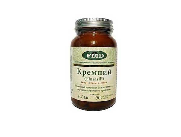 Фитопрепарат Кремний (Florasil®)-экстракт полевого хвоща