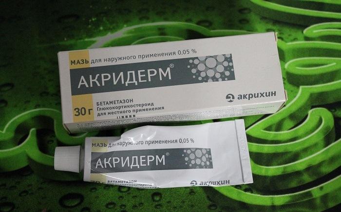 Состав Акридерма ГК